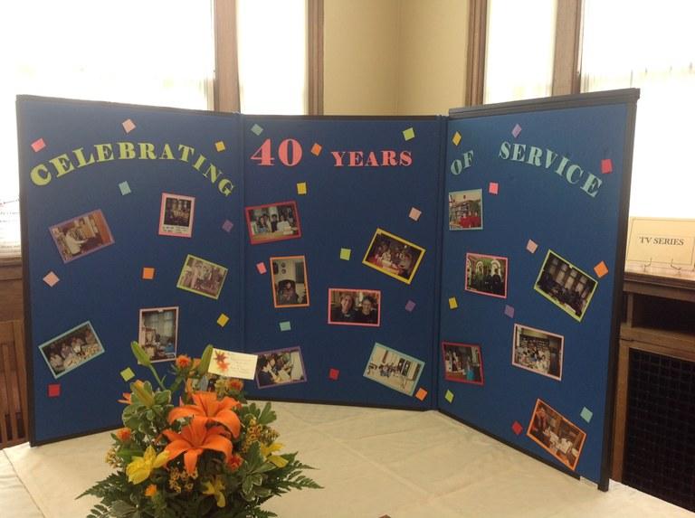 Betty's Anniversary Board.JPG