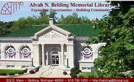 Belding's Library Card
