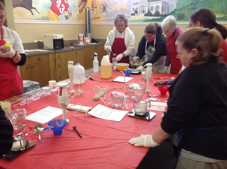 Make your own lotion class with Rachel Sadowski!
