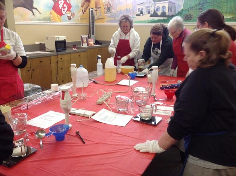 Make your own lotion class with Rachel Sadowski!