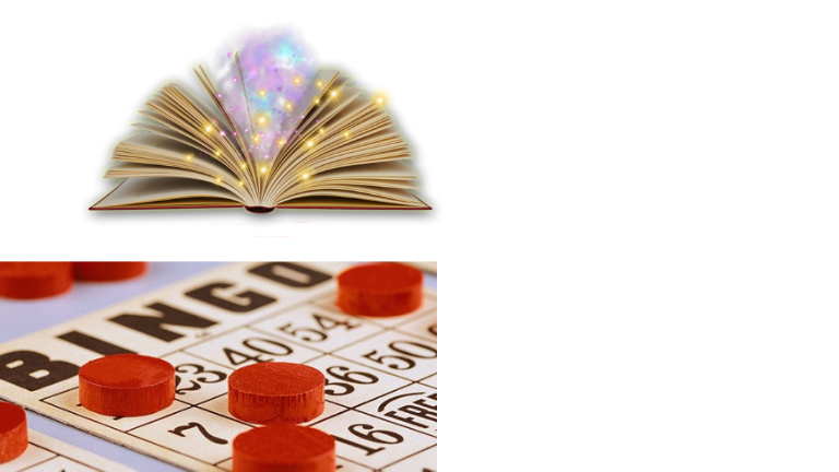 Senior Social Book Bingo